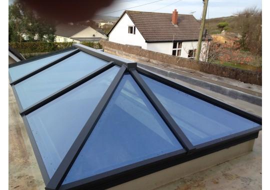 Skypod Aluminium Roof Lantern - From