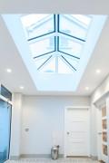 white rooflight lanterns