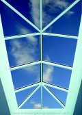 Inside View of Aluminium Rooflight