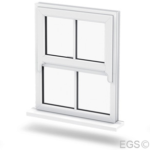 Liniar Sash Horn Windows in Sussex